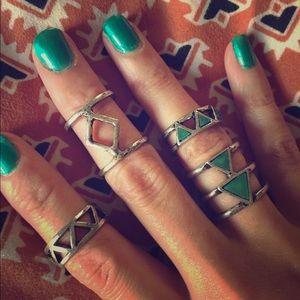 4 piece ring set